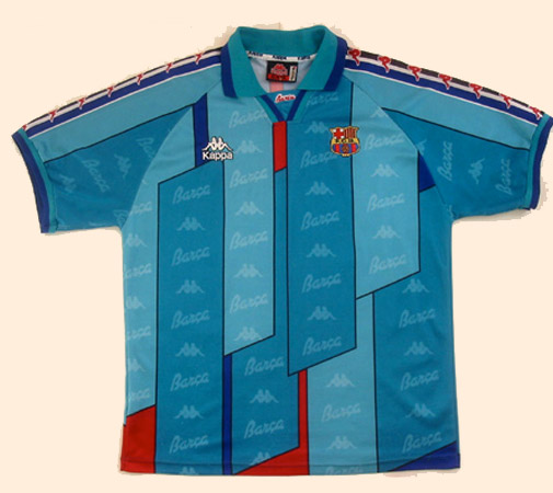 Lelijk voetbalshirt FC Barcelona